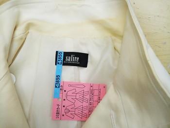 襟の汚れ、黄ばみ